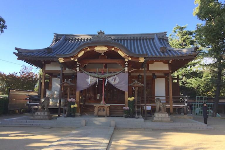 藤森神社(拝殿)