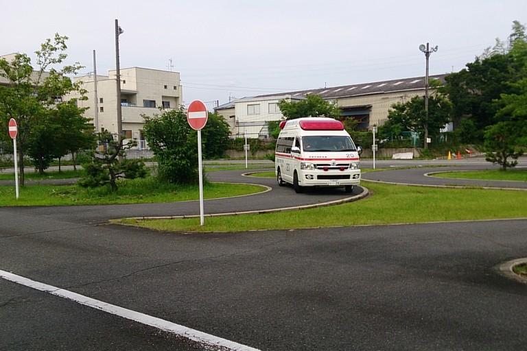 教習所に救急車