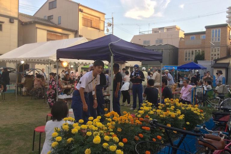 夏祭り ちびっこ広場