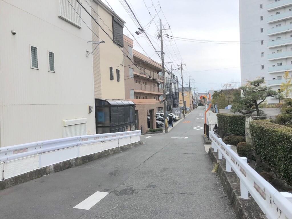 山田川近辺