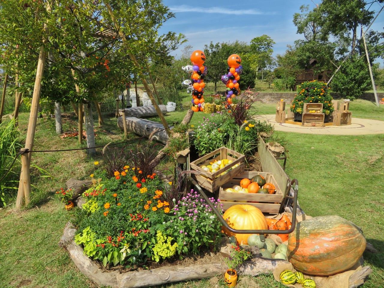 「花菜ガーデン」のハロウィンイベント