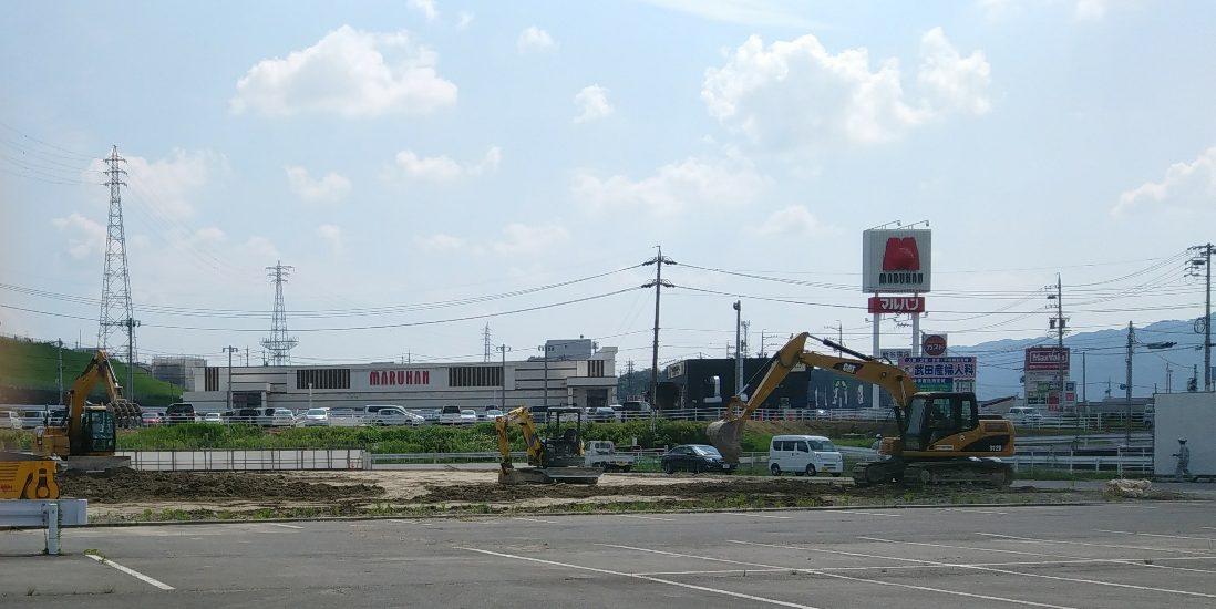 【名張市】ニトリ名張店が移転!いよいよ工事が始まりました!