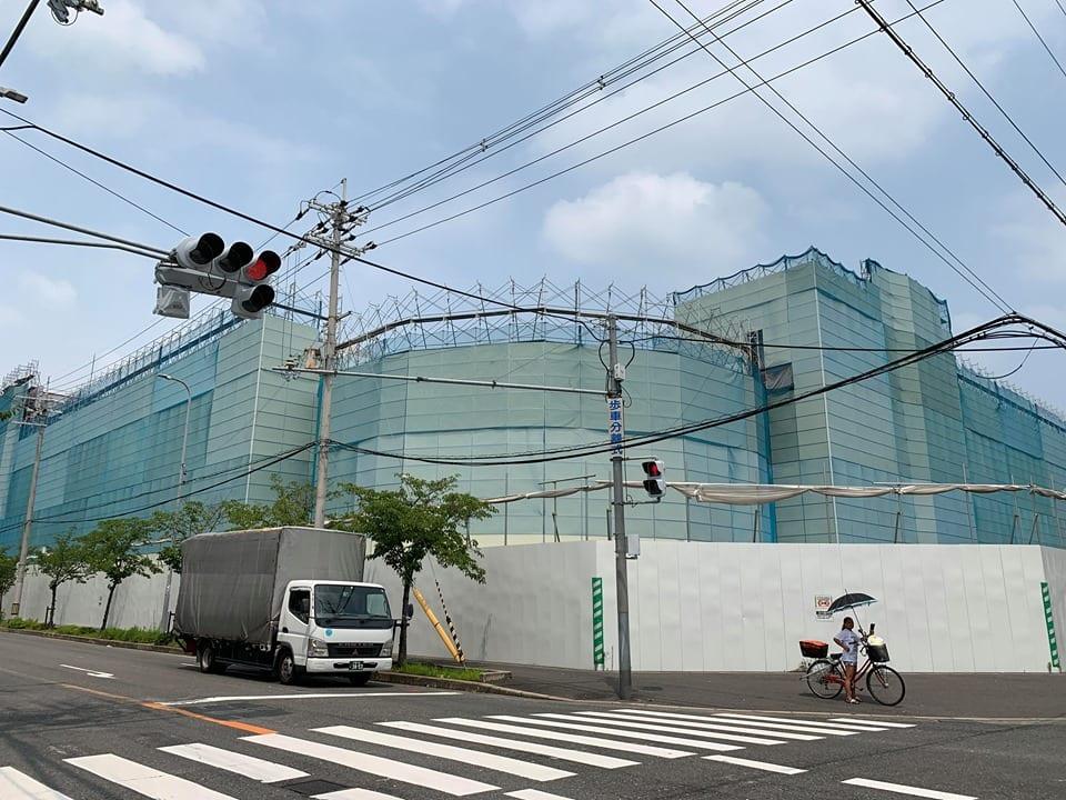【東大阪市】追記あり:イトーヨーカドー跡地の工事が地域住民の反対により中止に?!現地へ様子を見に行ってきました!