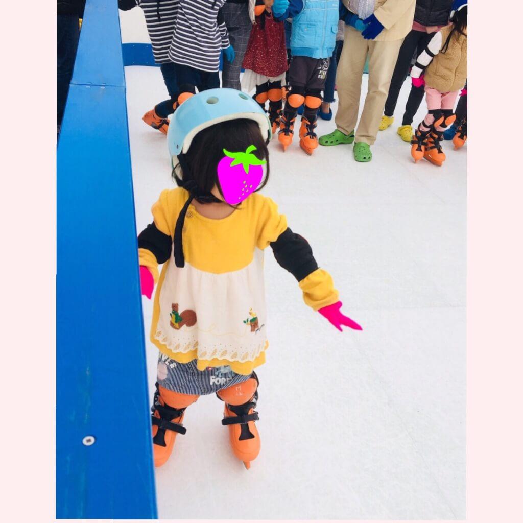 スケート 娘
