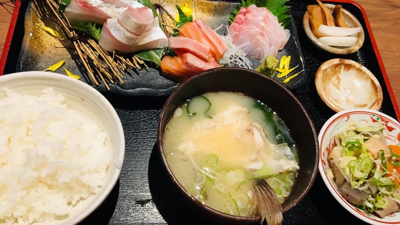 sashimi teisyoku