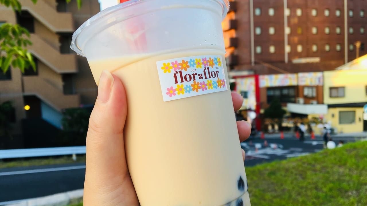【草津市】話題のタピオカドリンク専門店『flor flor DE愛ひろば前店』にオープン初日に行ってきました!