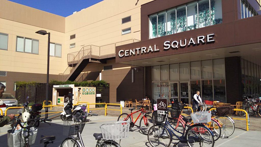 セントラルスクエア 西宮原店 西側駐輪場 付近