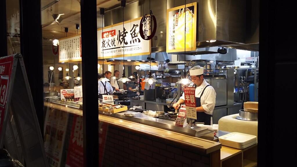 木川東食堂 店内の様子