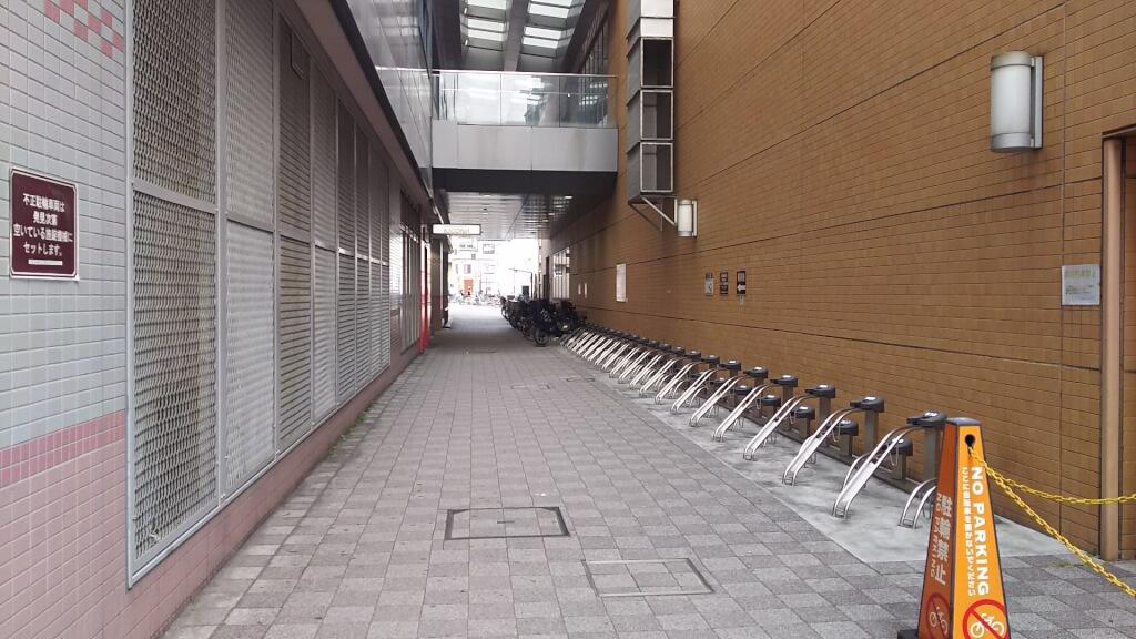 阪急 三国駅前 三国東 駐輪場 南側