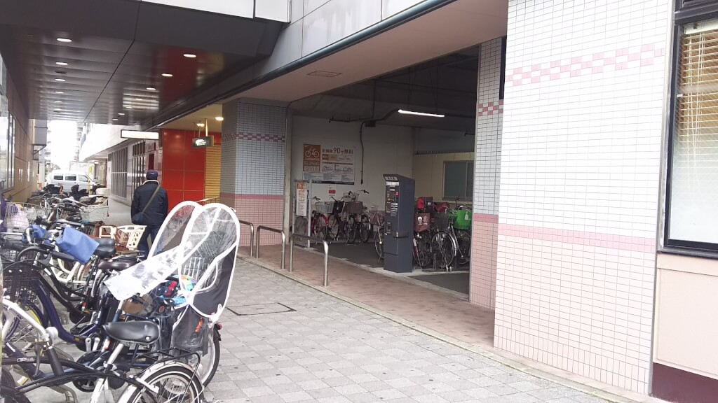 阪急 三国駅 駐輪場 三国B