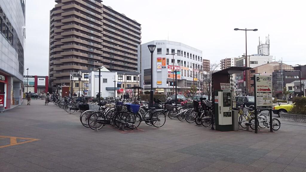 阪急 三国駅前 三国東 駐輪場 全体