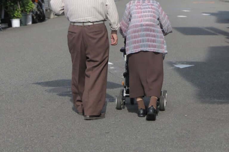 高齢の 夫婦