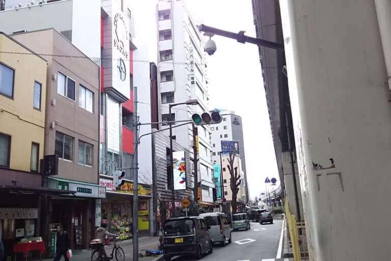 ジャンボカラオケ広場 西中島店 北側から