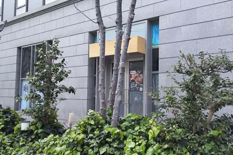 大広新大阪ビル 1階 店舗入り口 アップ