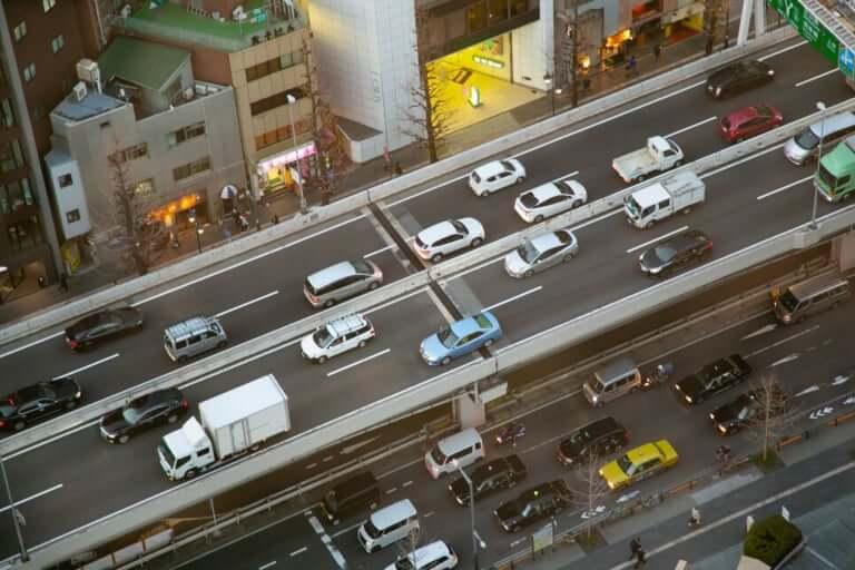 阪神高速塚本付近事故
