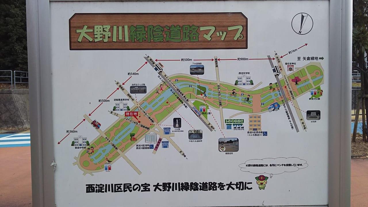 大野川緑陰道路 マップ