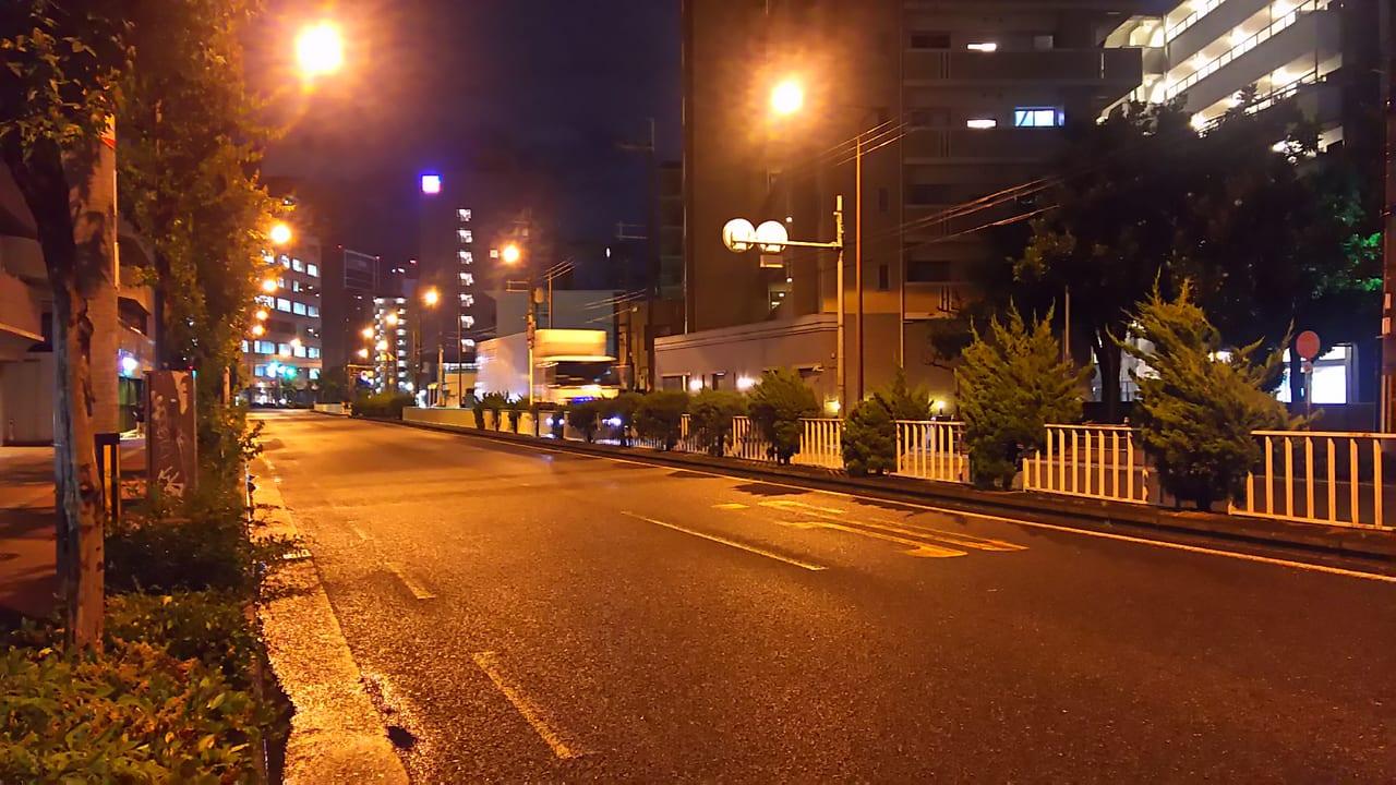 2019年6月27日 21時頃の淀川通り