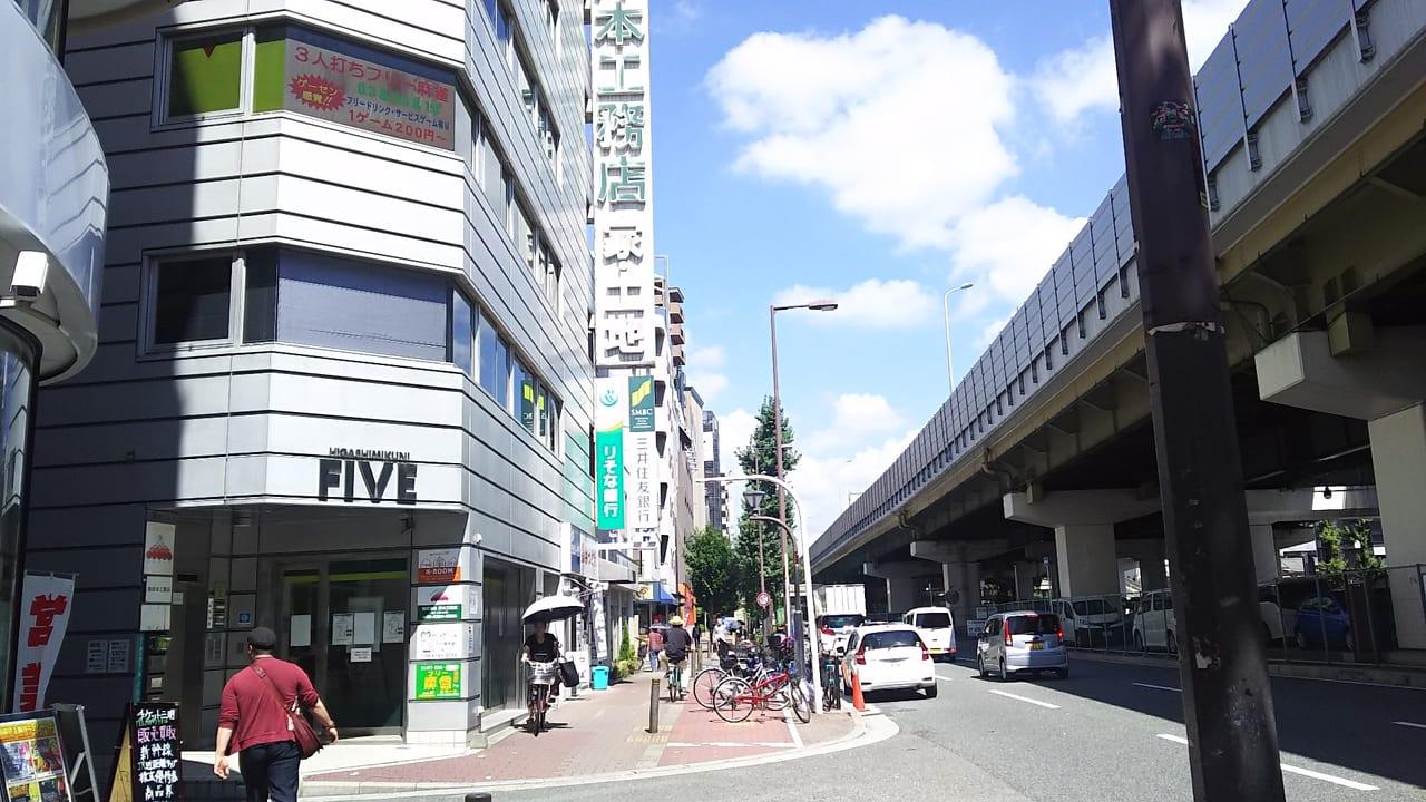 三井住友銀行 東三国出張所の外観