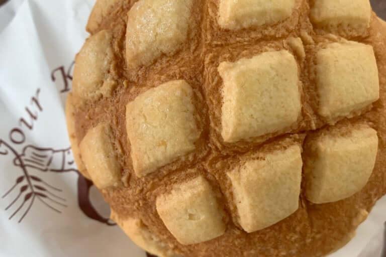 ボンジュール神戸のメロンパン