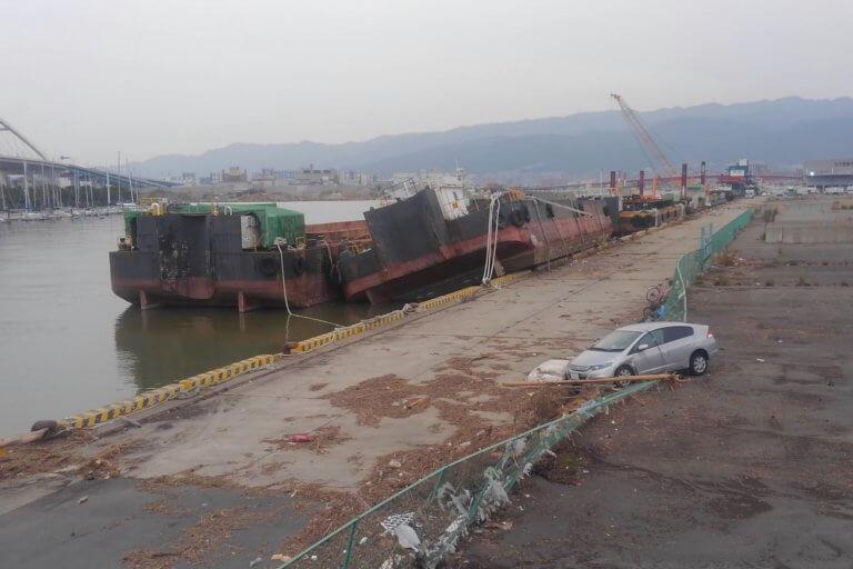 今津港の状況