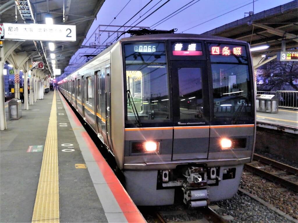 207系普通電車