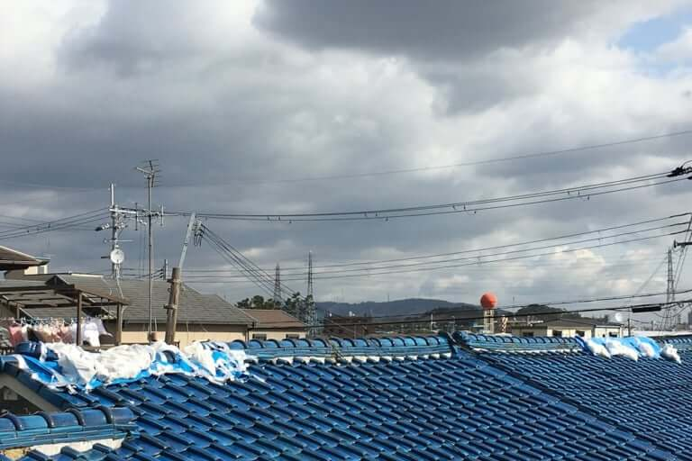 大阪北部地震での被害写真