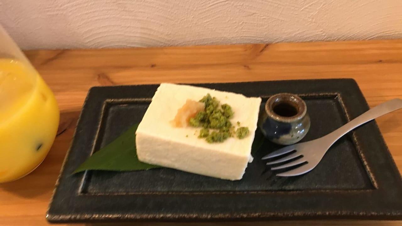 こだわり豆腐の生チーズケーキ