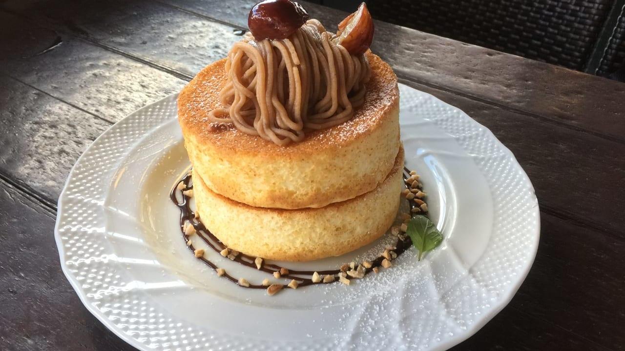星乃珈琲 栗のスフレケーキ
