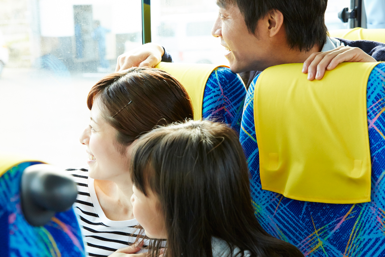 市バスでぶらり