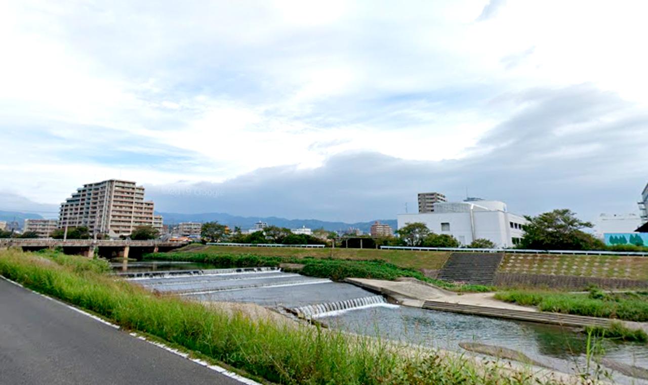 芥川水難事故現場