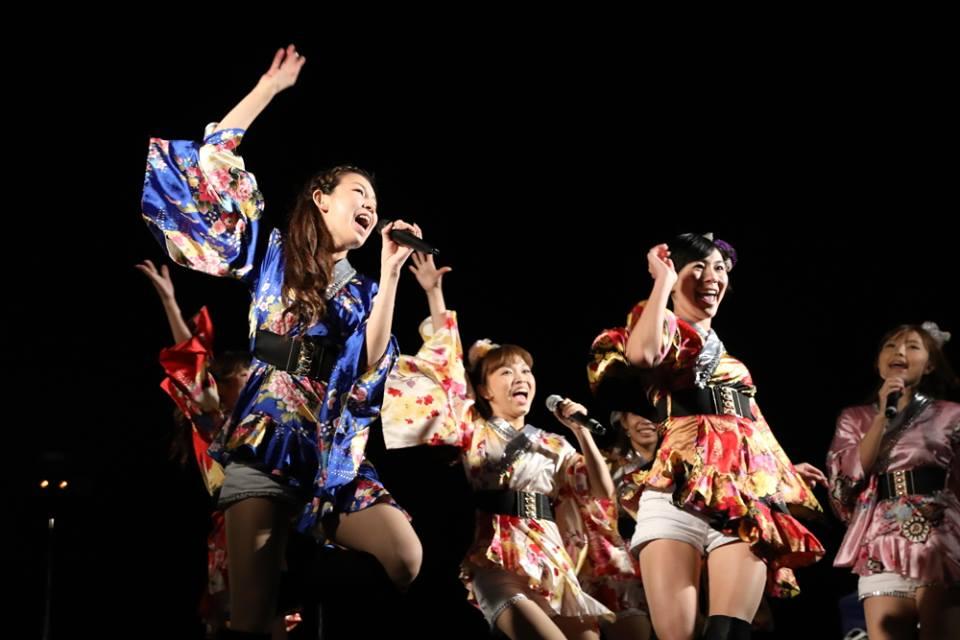 照らせ!ひがよど祭り 東淀川区 花火 2016 11月13日 OSAKA翔GANGS