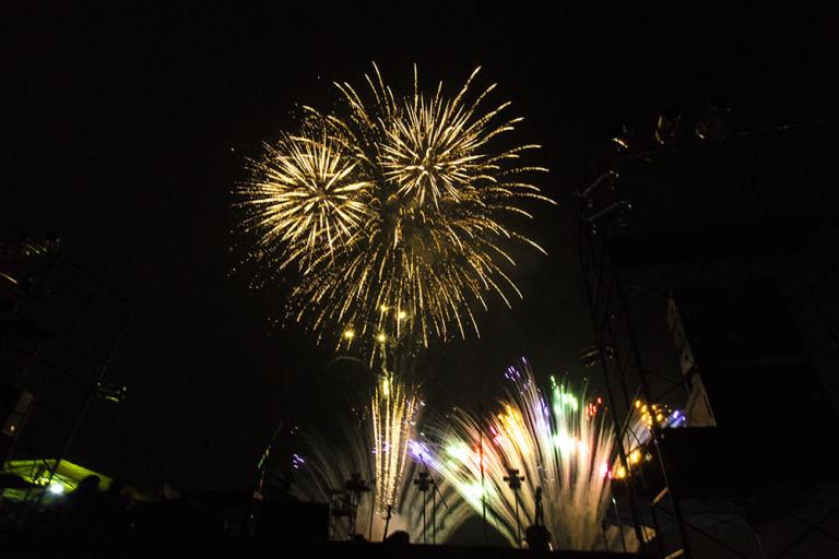 照らせ!ひがよど祭り 東淀川区 花火 2016 11月13日