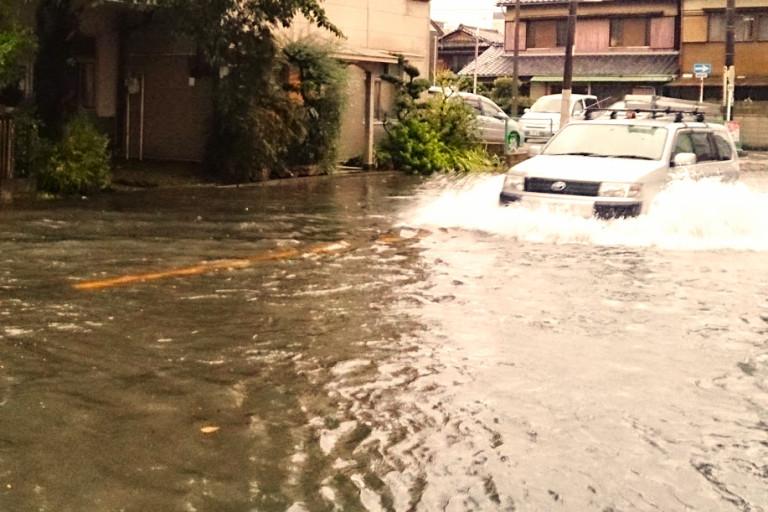 洪水 写真AC
