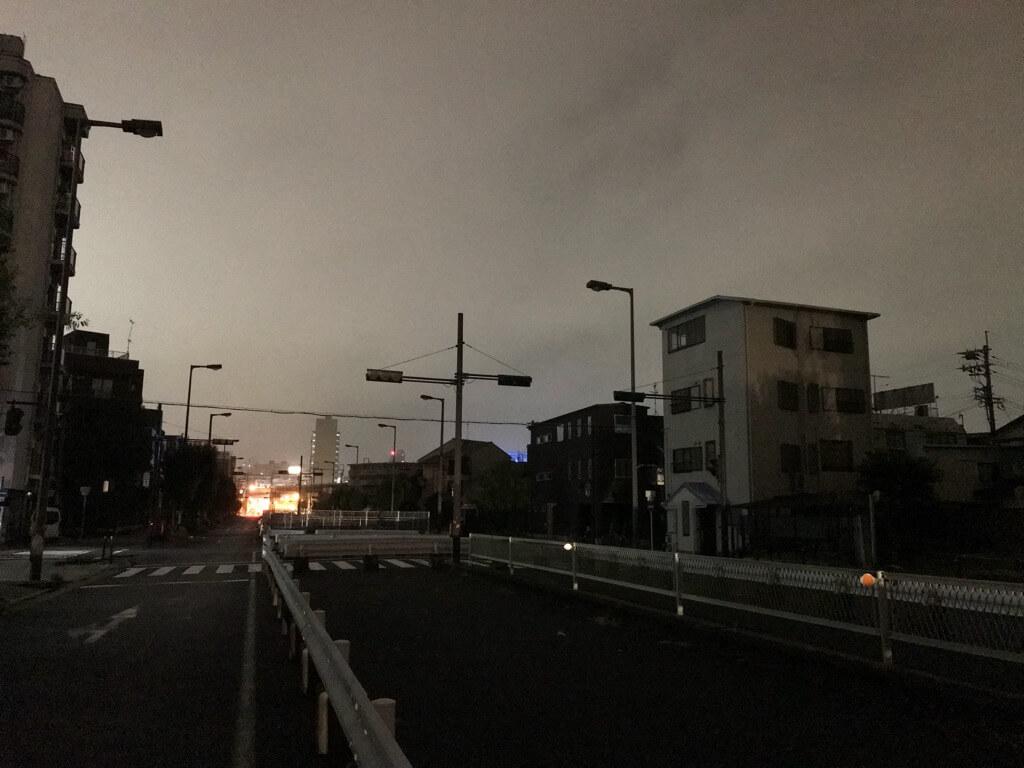 2018年台風21号停電
