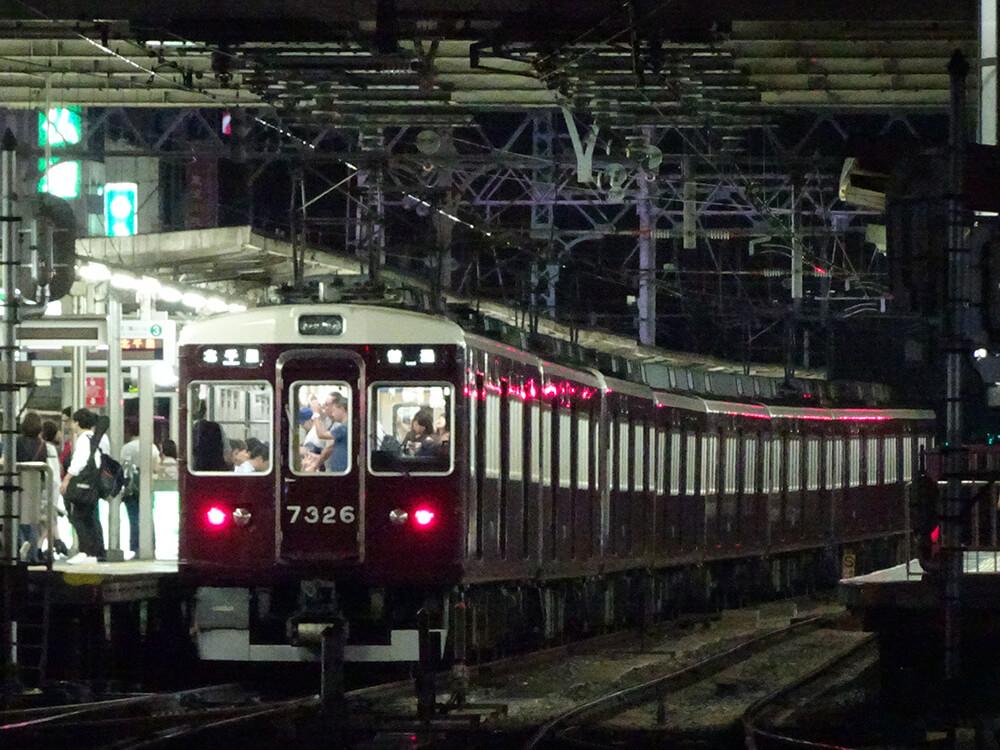 阪急淡路遅延