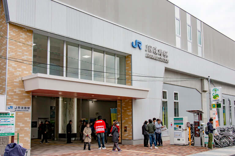 おおさか東線JR淡路駅