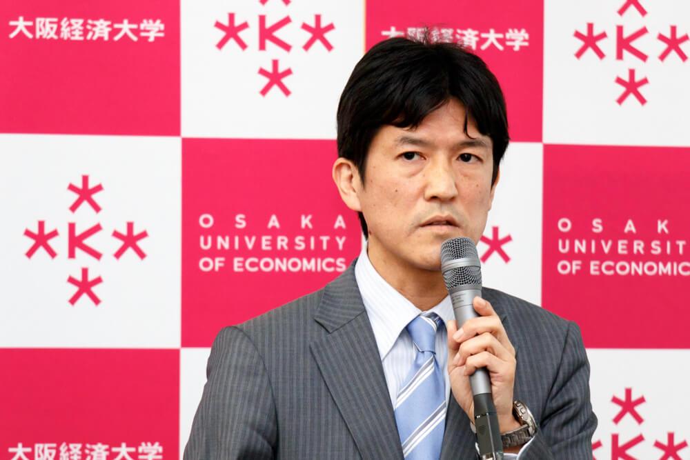 大経大山本新学長
