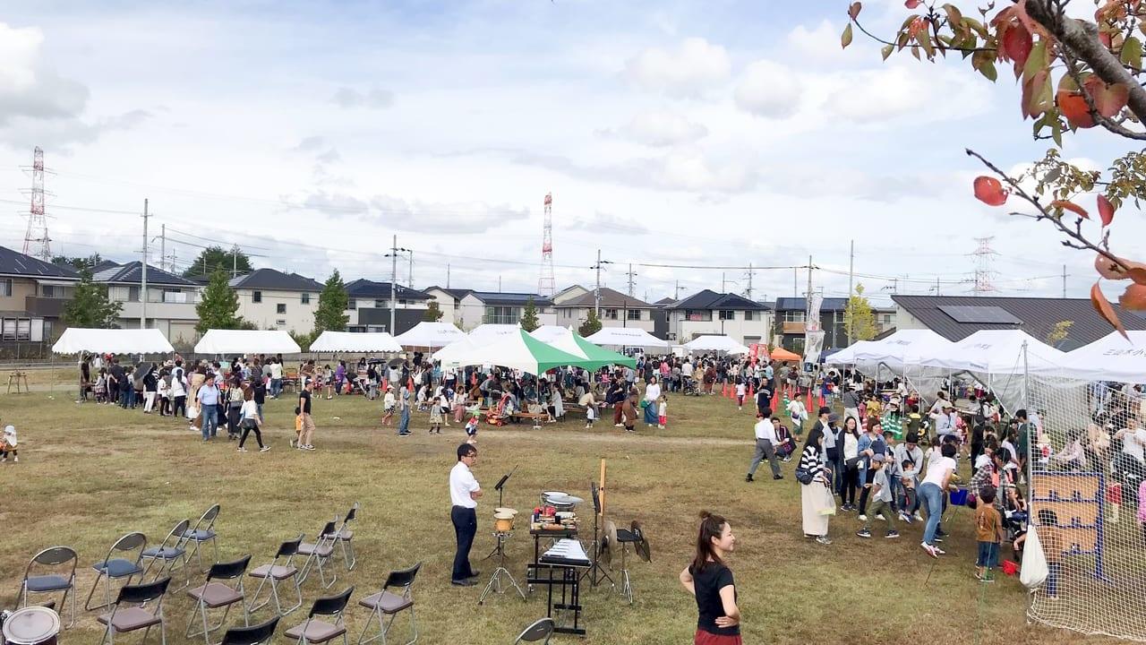 同志社山秋祭り