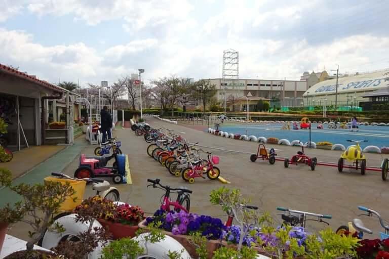 稲野公園運動施設(自転車公園)全景
