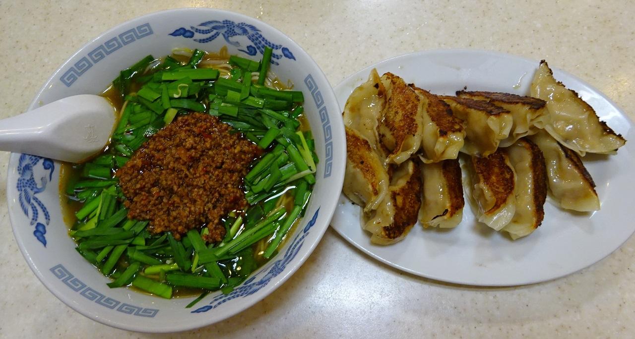 台湾ラーメンと餃子