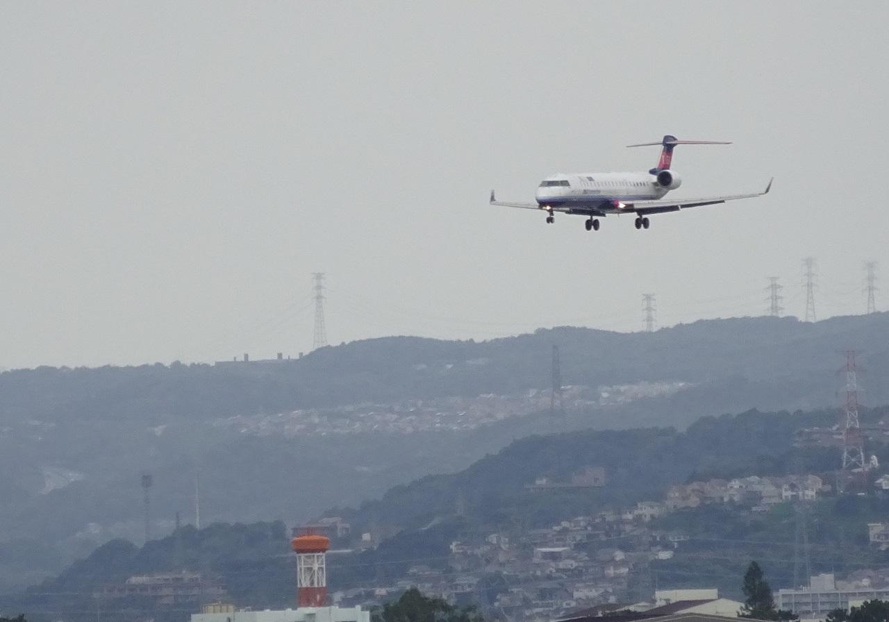 14で着陸のIBEX便