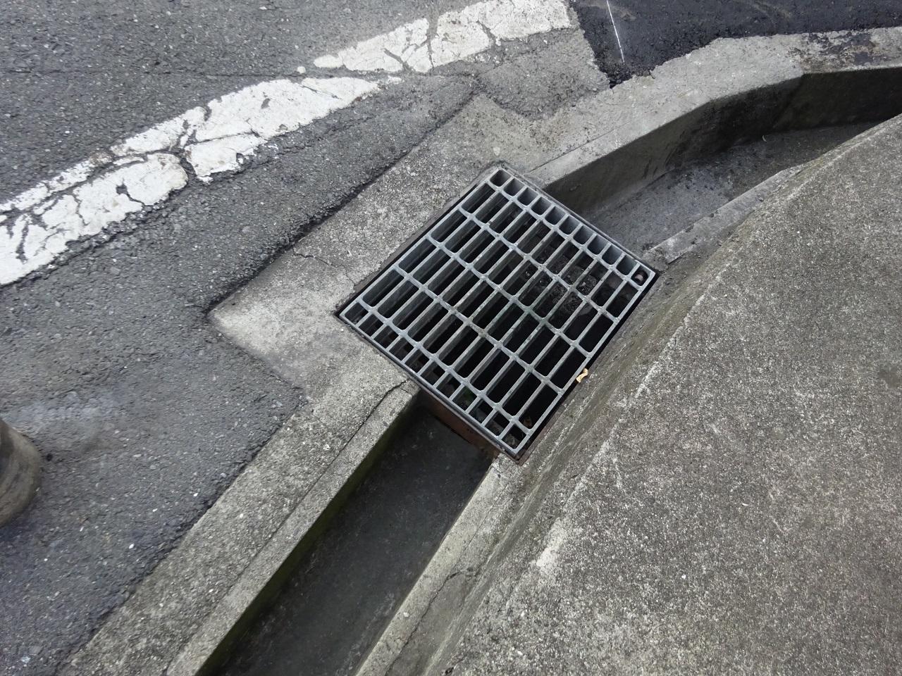 生活排水路の暗渠