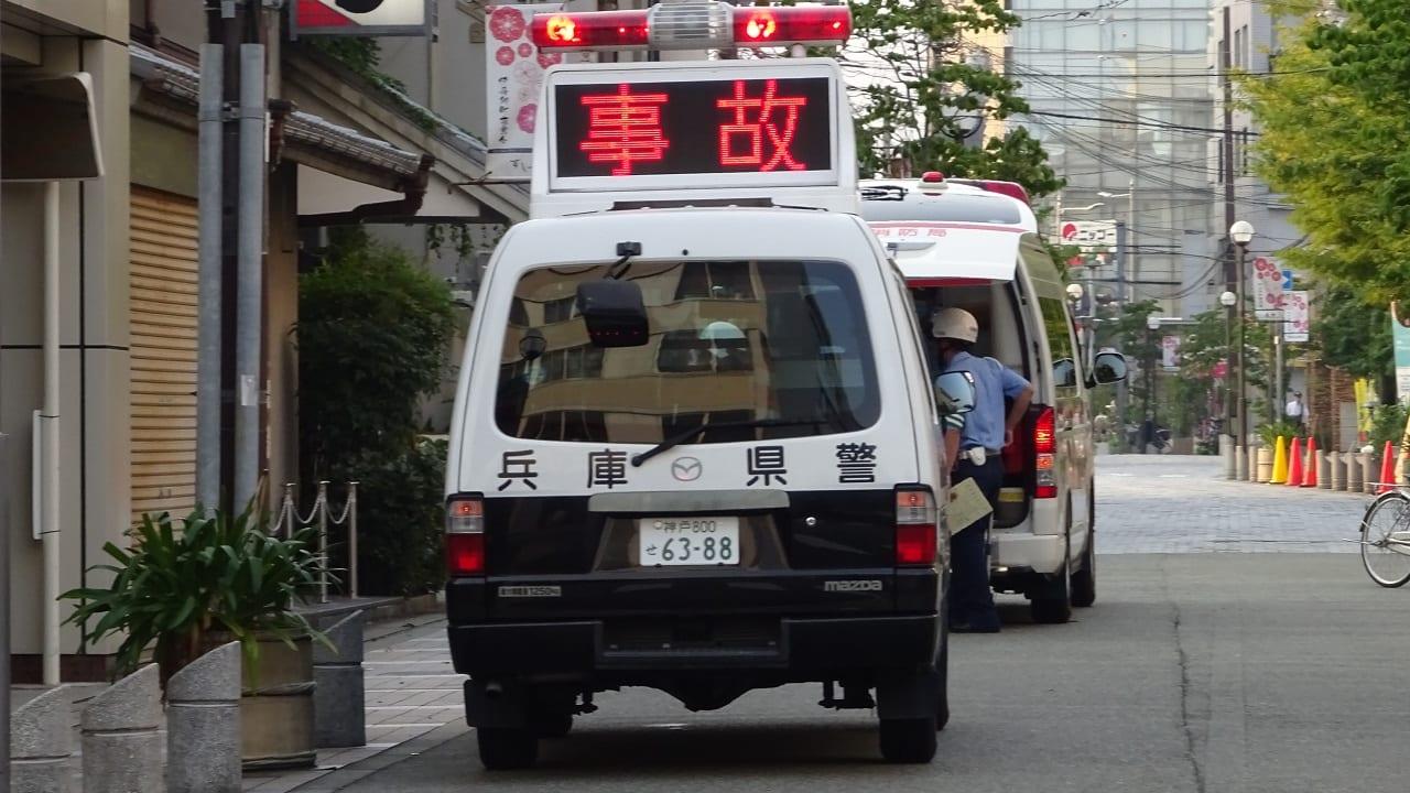 兵庫県警パトカー