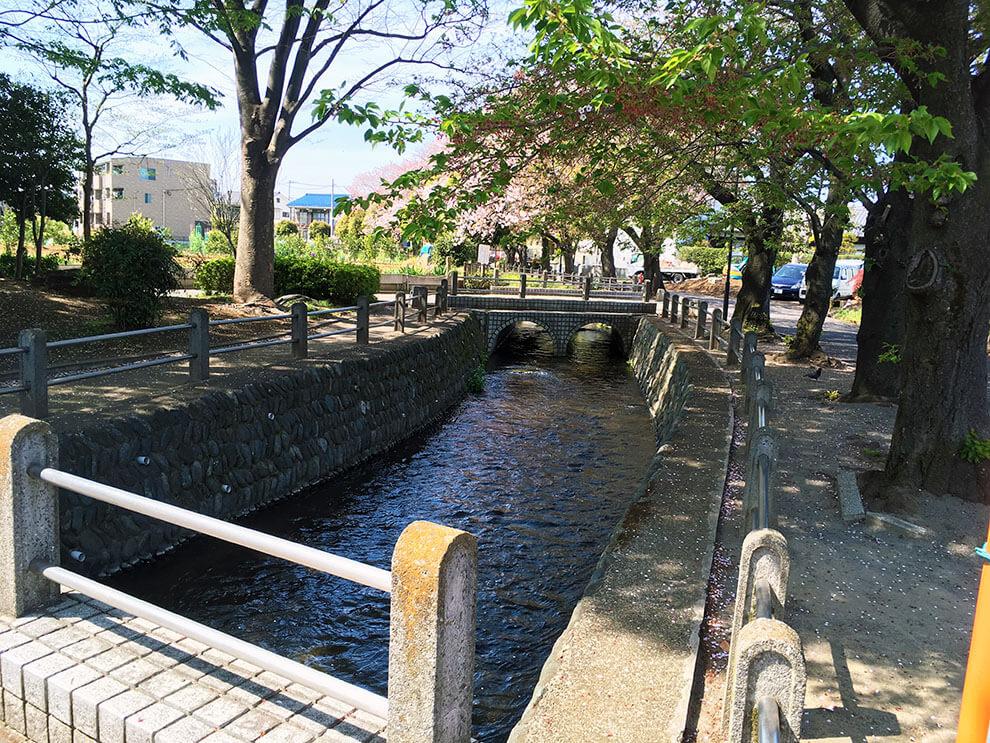 大丸用水のアーチ橋