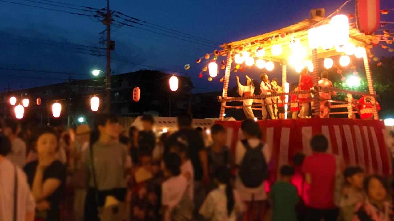 東寺方自治会第47回納涼盆踊り大会