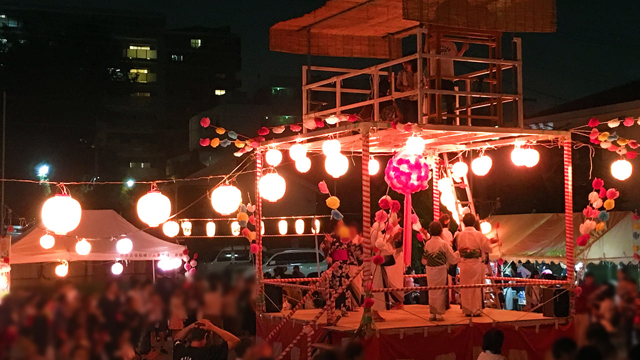 百村盆踊り2019