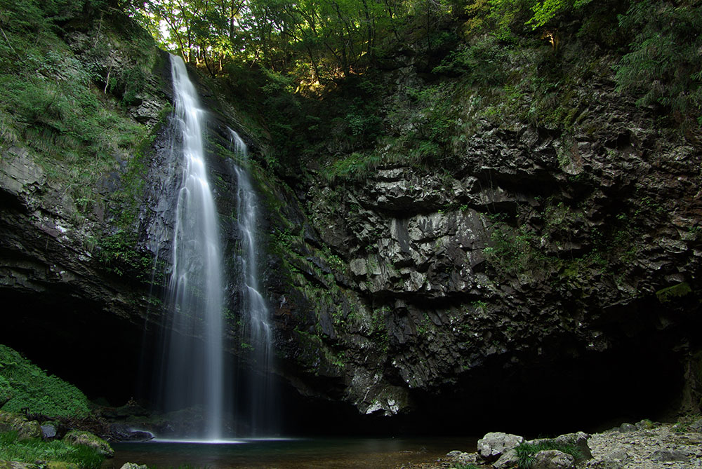 雲南市の龍頭が滝
