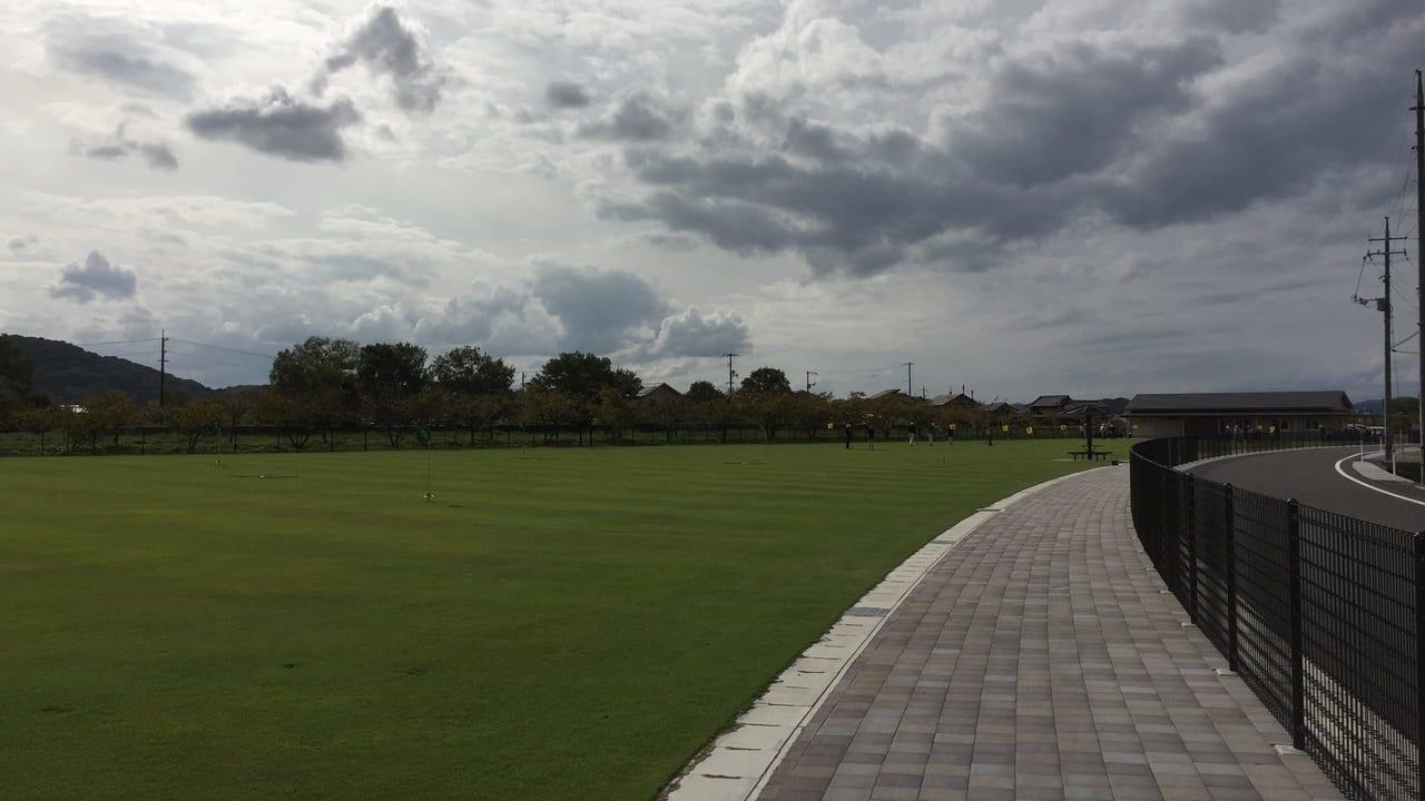 グランドゴルフ場オープン