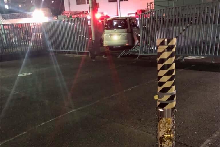 守口市水道局 車の事故