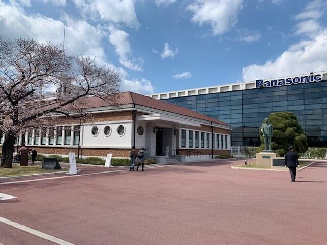 パナソニックミュージアムの桜